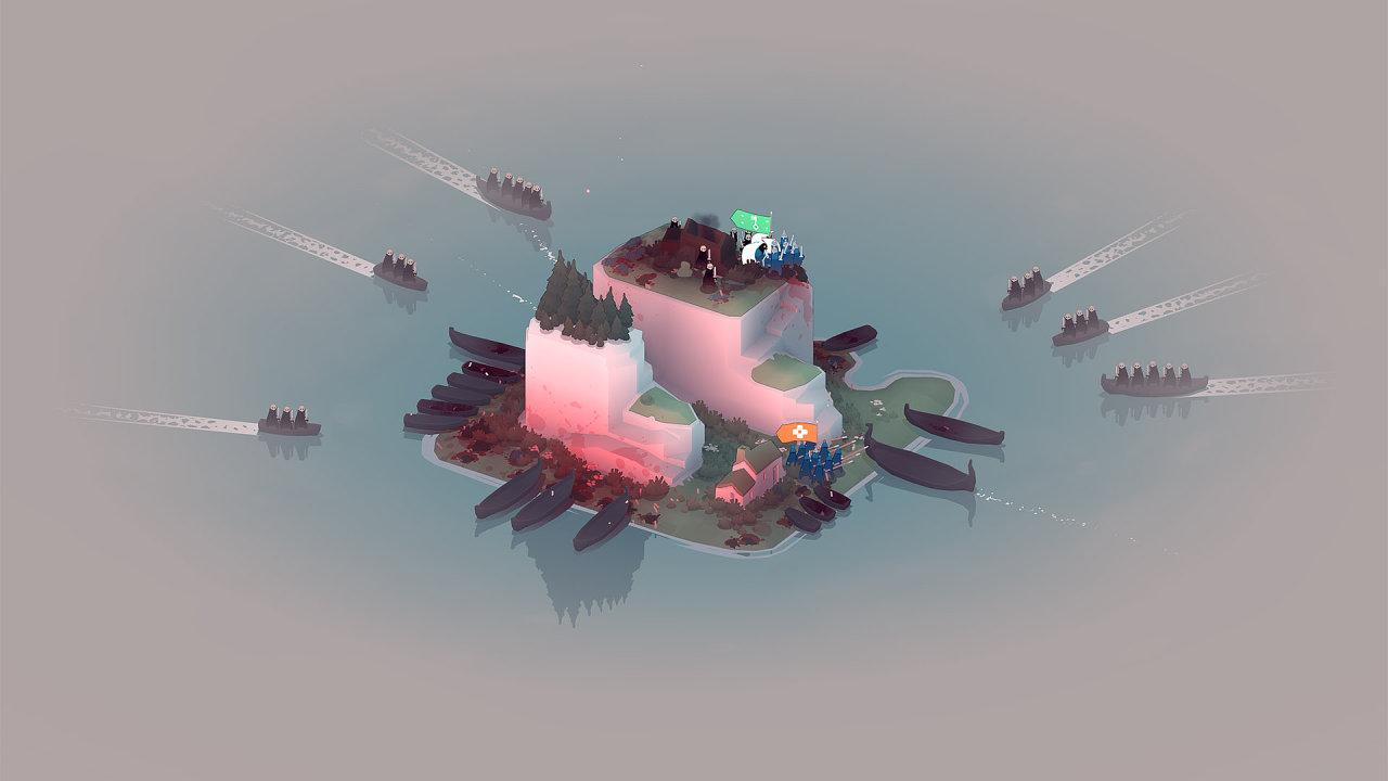 Ukázka ze hry Bad North.