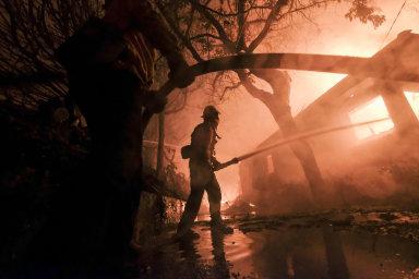 Požáry v Kalifornii si už vyžádaly 44 obětí. Plameny už zde letos spálily území o rozloze větší, než má Belgie a Lucembursko dohromady