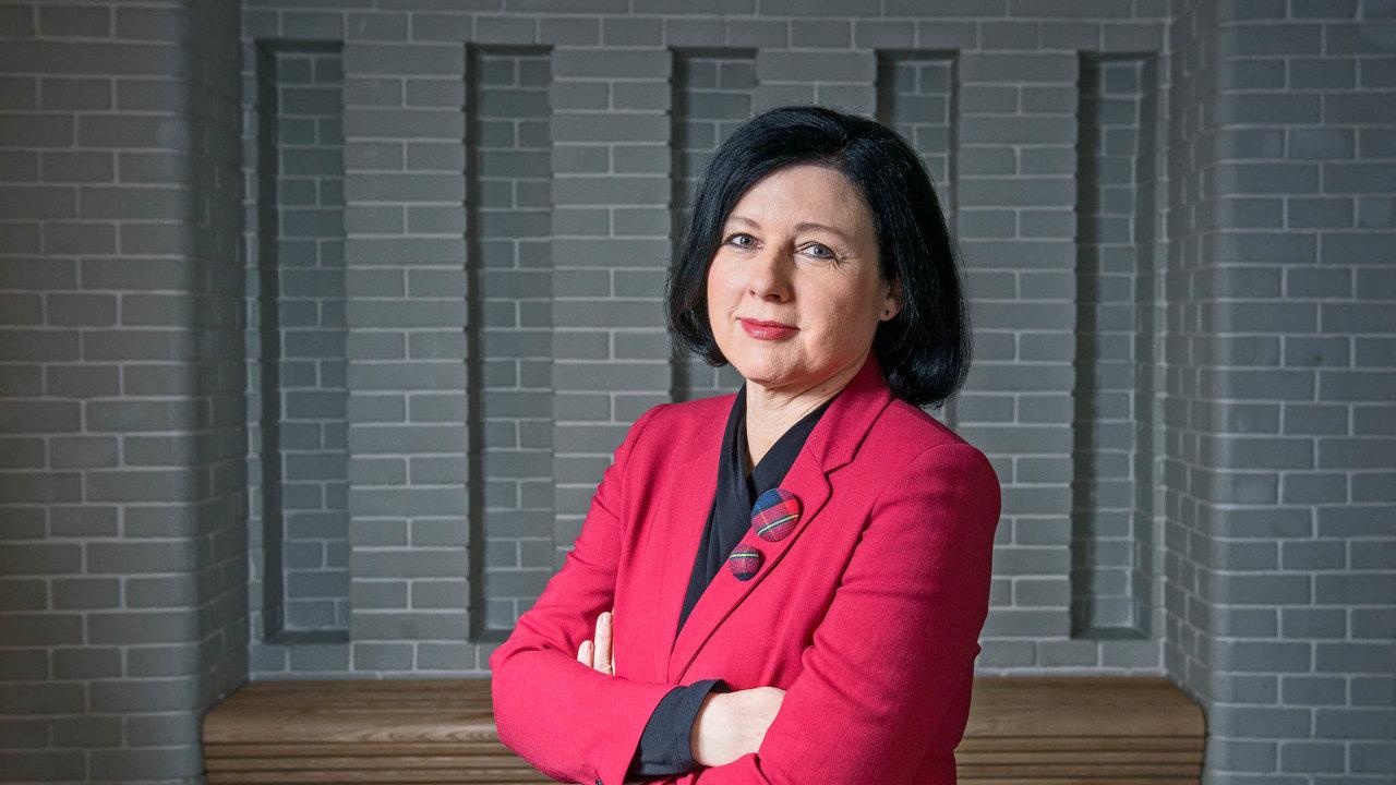 Věru Jourovou prosazuje premiér Andrej Babiš i do příští Evropské komise.