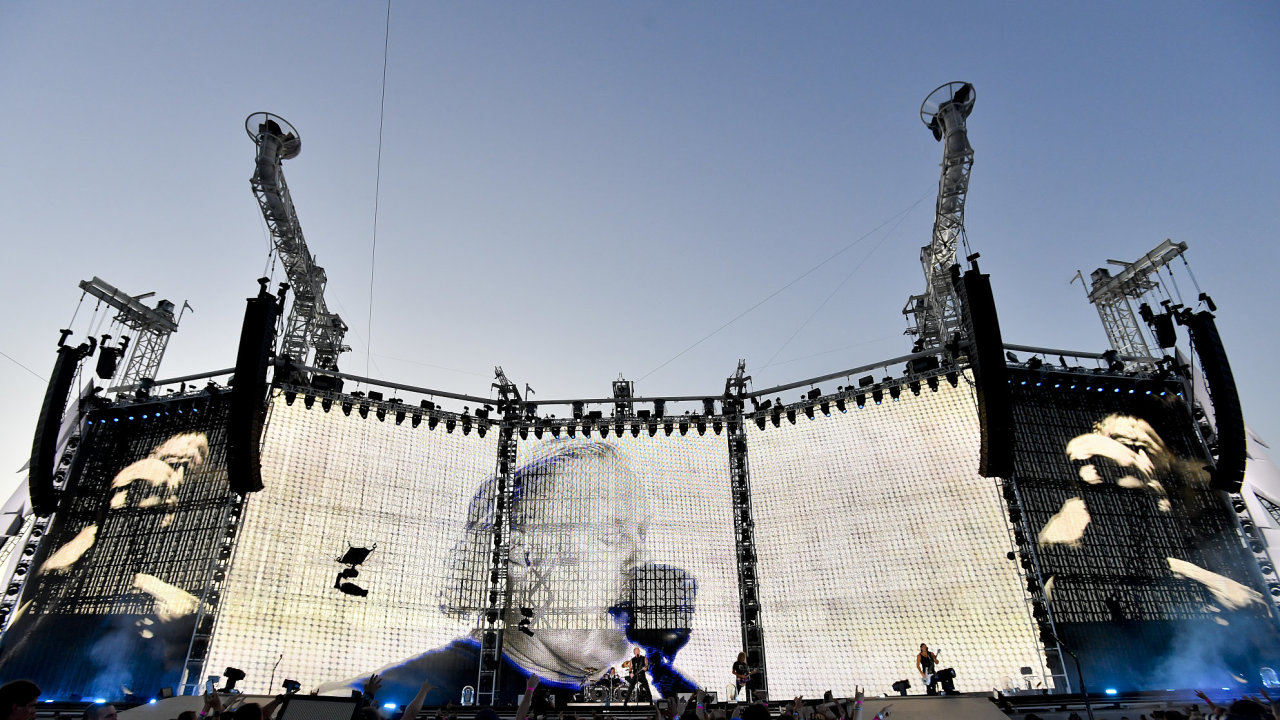 Metallica zahrála v Letňanech pro 70 tisíc lidí.