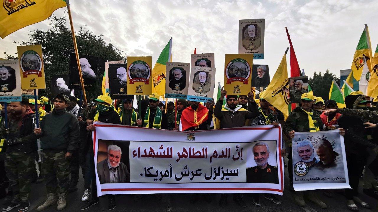 Irán, Bagdád, Soleimani, pohřeb