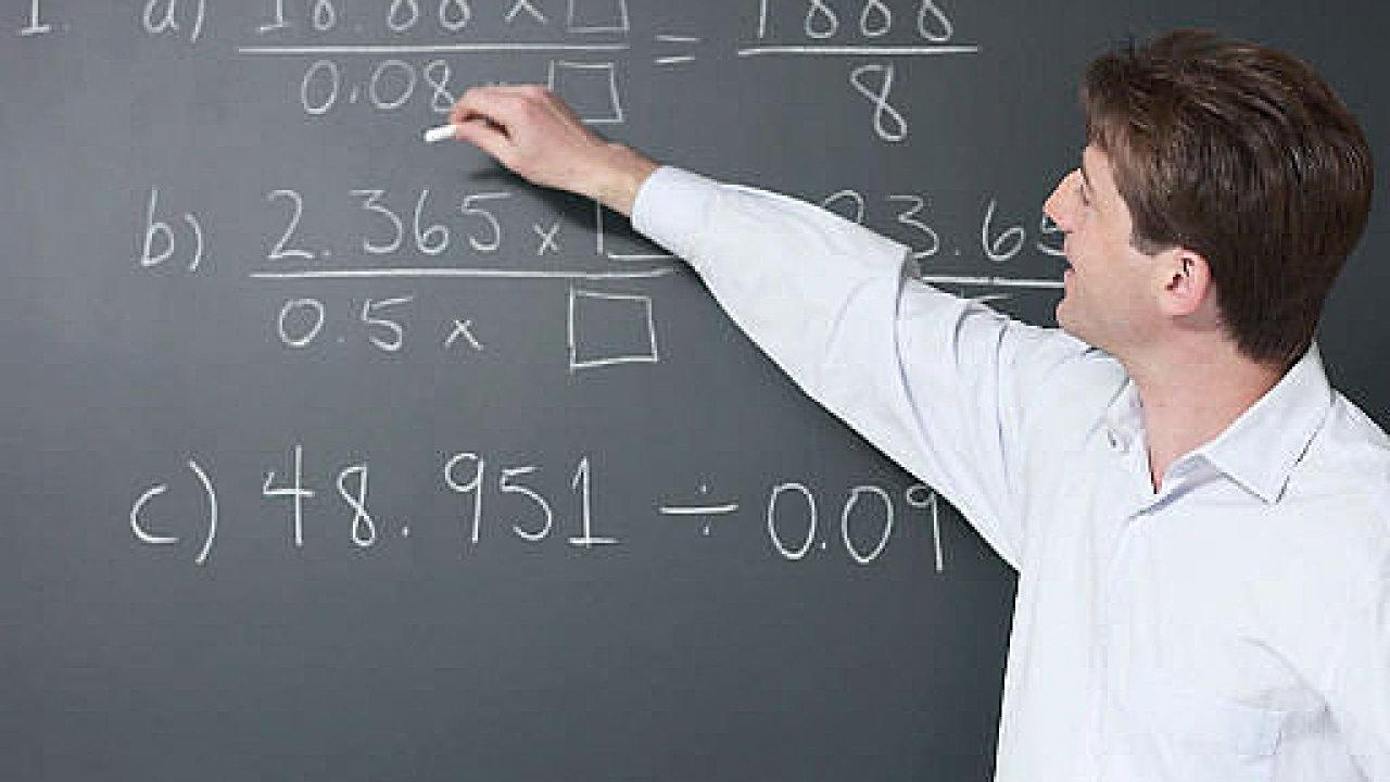 Pokud vás takovéto výjevy na střední škole neděsily, je možná studium matematiky určeno právě pro vás
