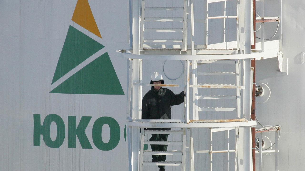 Ropný gigant: Firma Jukos byla největší soukromou ruskou ropnou společností. Patřila Michailu Chodorkovskému.