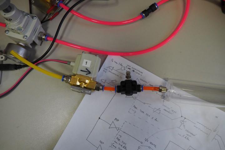 Plicní ventilátor ČVUT