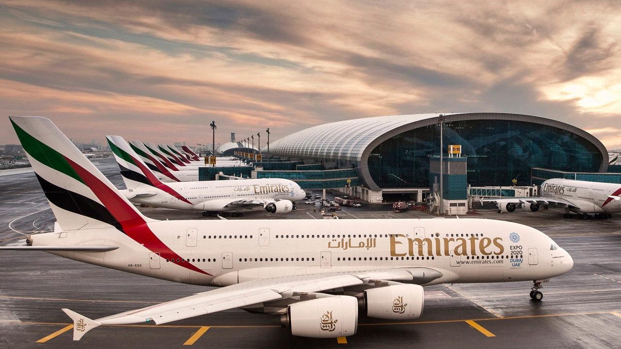 Emirates patří knejvětším dálkovým leteckým přepravcům nasvětě.