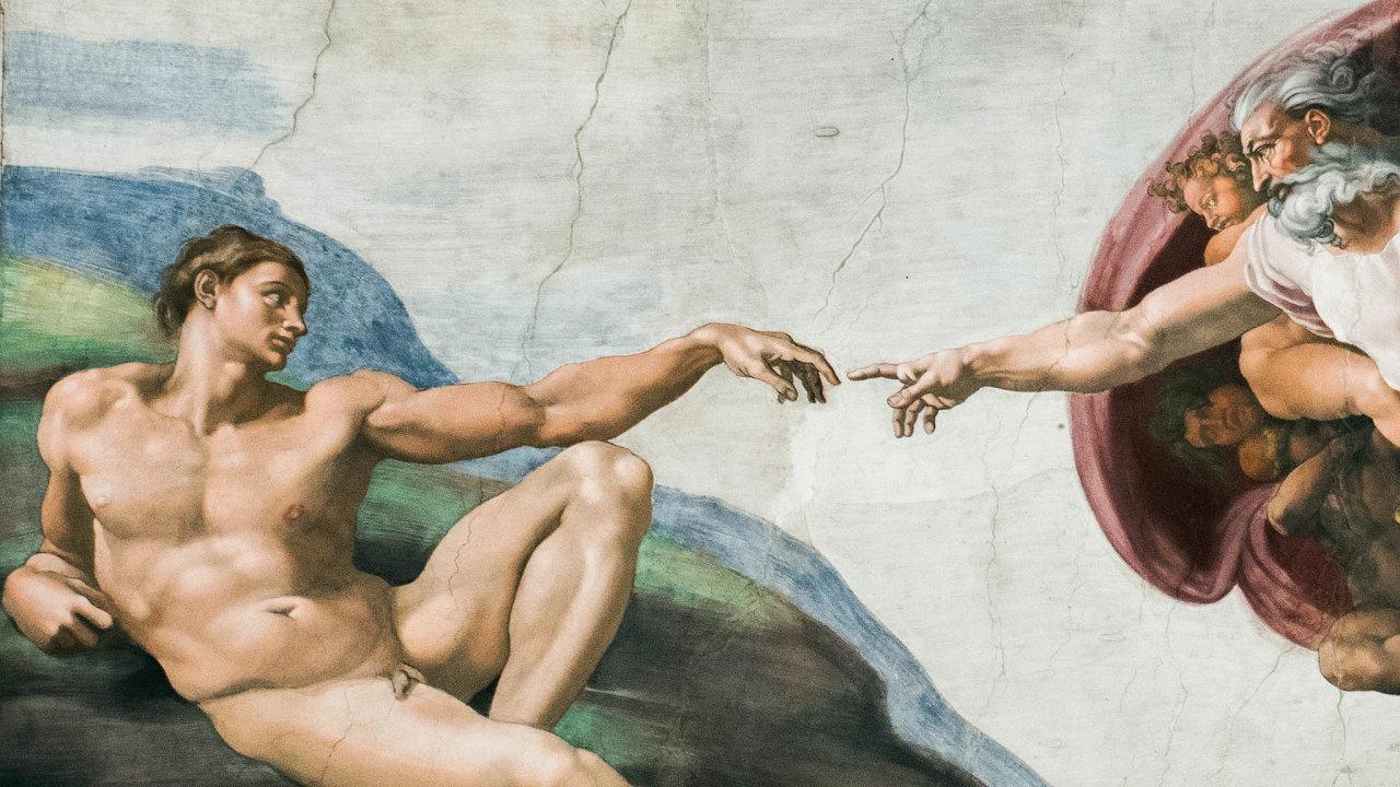 Člověk a Bůh. Problém není jen vtom, že Bůh nás opustil, jsme to imy, kteří opustili Boha.