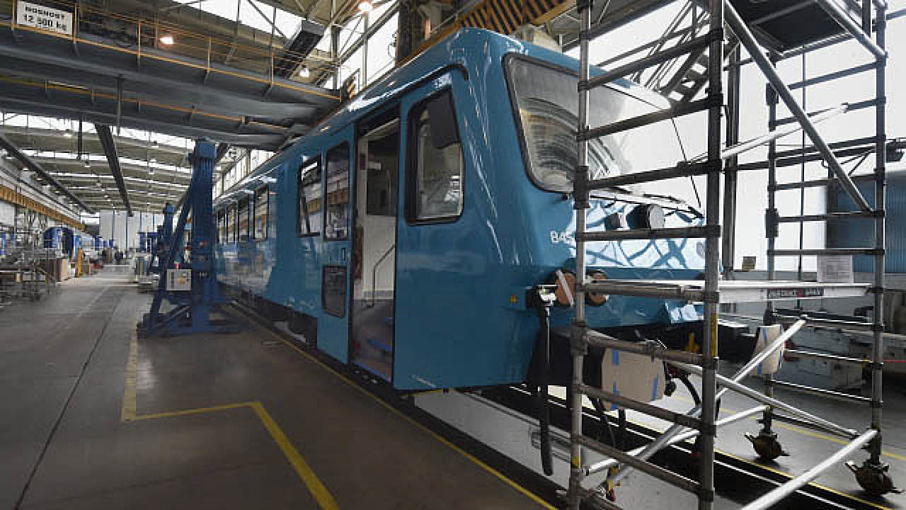Škoda Vagonka v Ostravě vyrábí tramvaje, vlaky nebo soupravy metra.