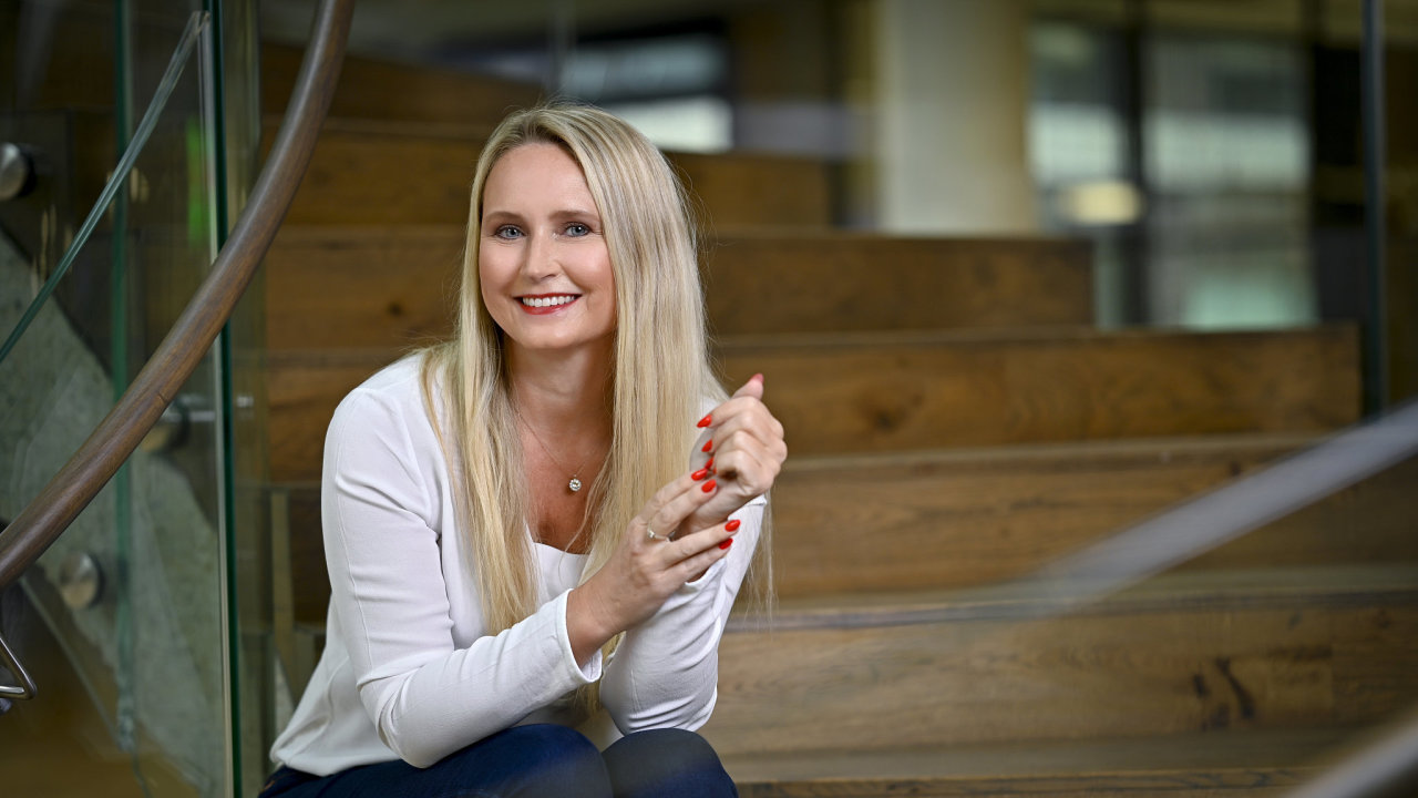 Projekt Kate má v ČSOB na starost šéfka inovací Michaela Lhotková