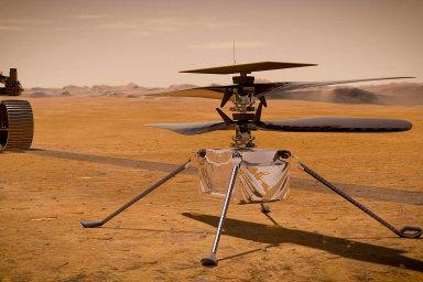 První let na jiné planetě byl úspěšný. Helikoptéra Ingenuity na Marsu vzletěla a znovu přistála