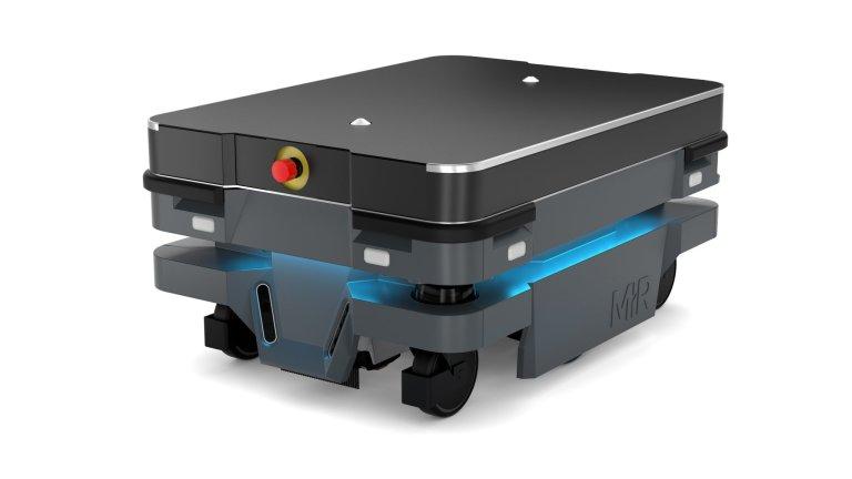 Nejvovější robot od Mobile Industrial Robots, stroj MiR250.