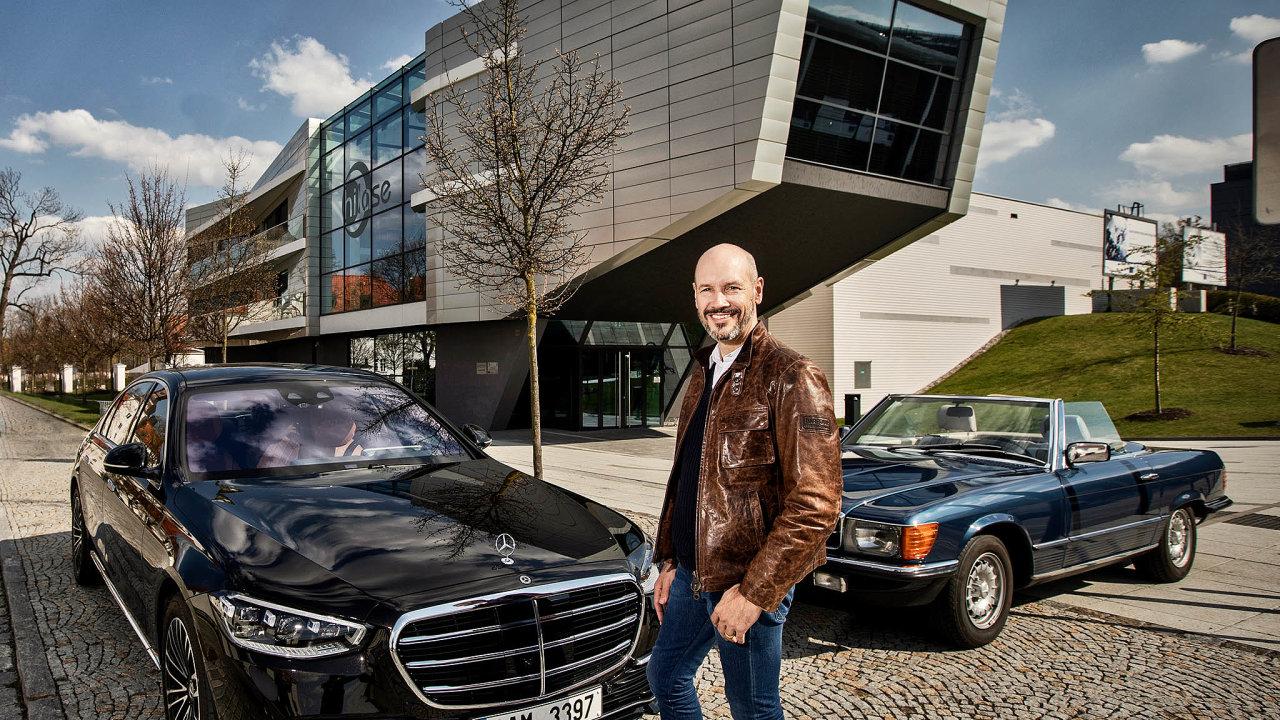 Šéf Mercedesu pro střední Evropu Wolfgang Bremm
