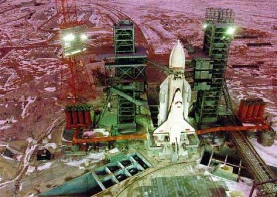 Sovětský raketoplán Buran