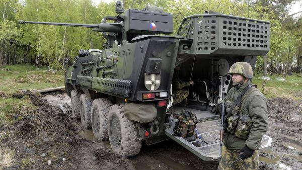 Arm�da pl�nuje koupit 200 bojov�ch vozidel do roku 2029 - Ilustra�n� foto.