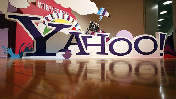 Logo americk� internetov� spole�nosti Yahoo!