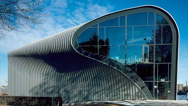 V přízemí ARCAMu (Amsterdam Architecture Center) jsou výstavní prostory.