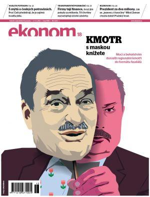 Týdeník Ekonom - č. 18/2012