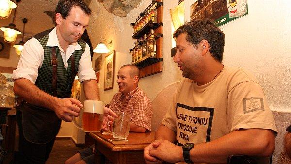 Vyhlášené hospody si na svém pivu zakládají, tak jako známá pražská hospoda U Pinkasů.