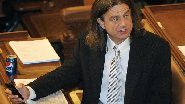 Poslanec Otto Chaloupka ve sněmovně