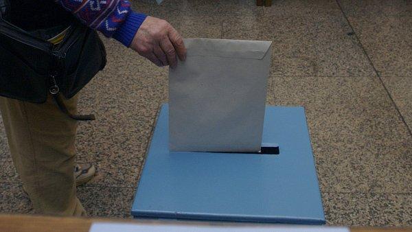 Komunální volby, urna