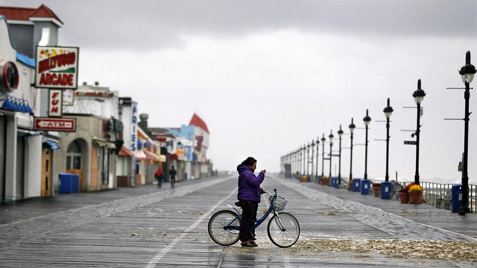 Východní pobřeží po hurikánu Sandy