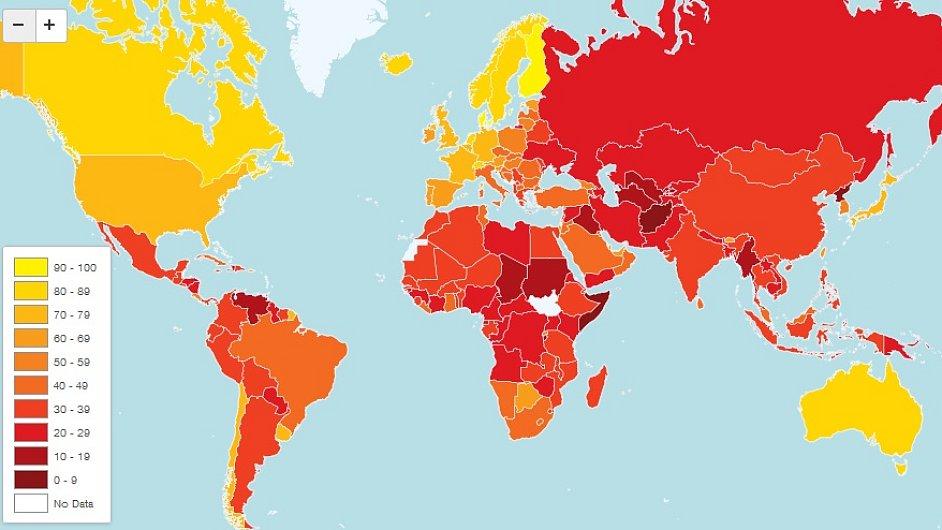 Mapa korupce