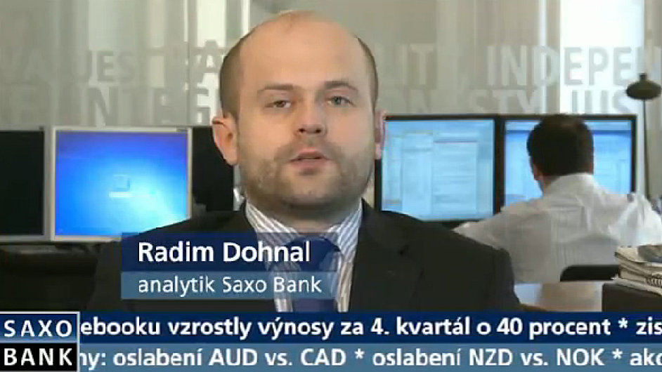 Radim Dohnal ze Saxo Bank