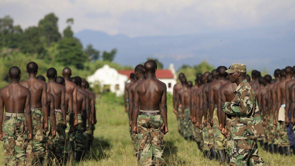 Noví bojovníci konžského rebelského hnutí M23