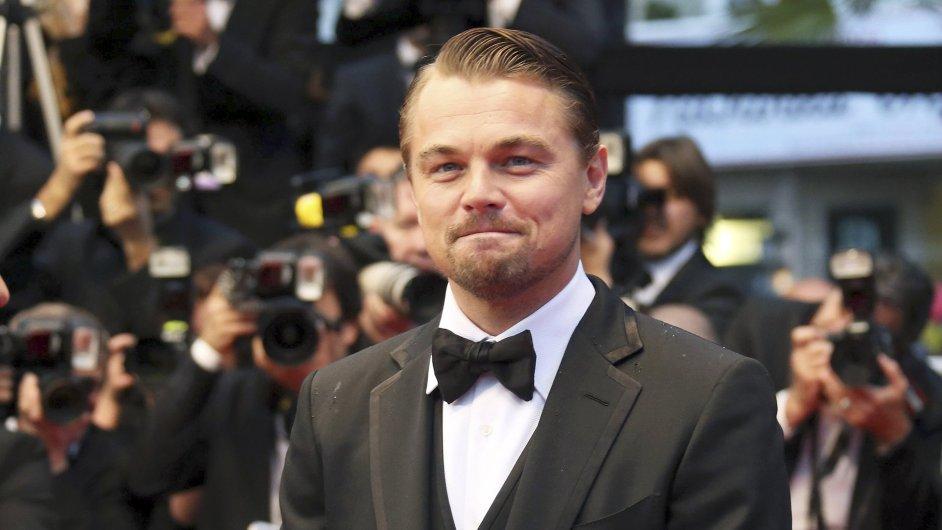 Leonardo DiCaprio v Cannes.