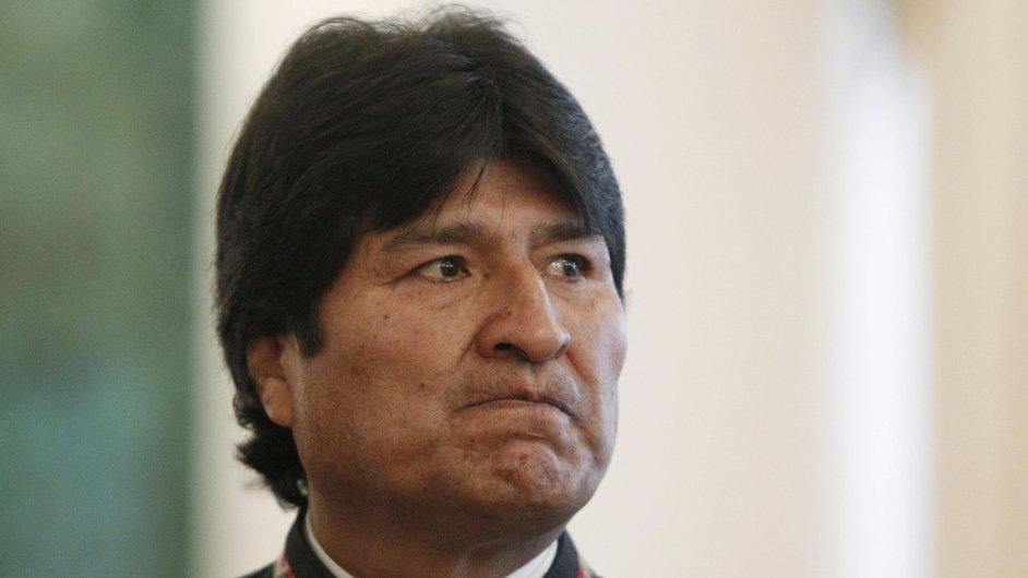 Bolivijský prezident Evo Morales musel přespat ve Vídni.