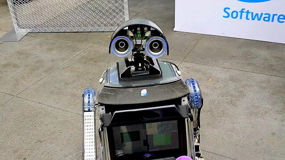 Robot Loki Davida Shinsela z Intelu