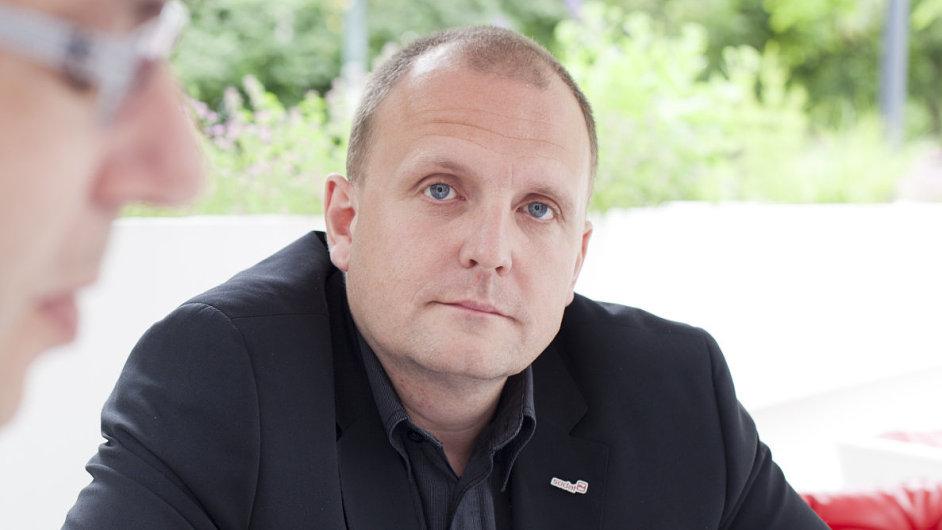 Spoluzakladatel a výkonný ředitel SodatSW Martin Hanzal.