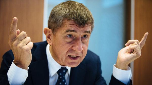 Andrej Babiš má prý spadeno na šéfa ČEZ.
