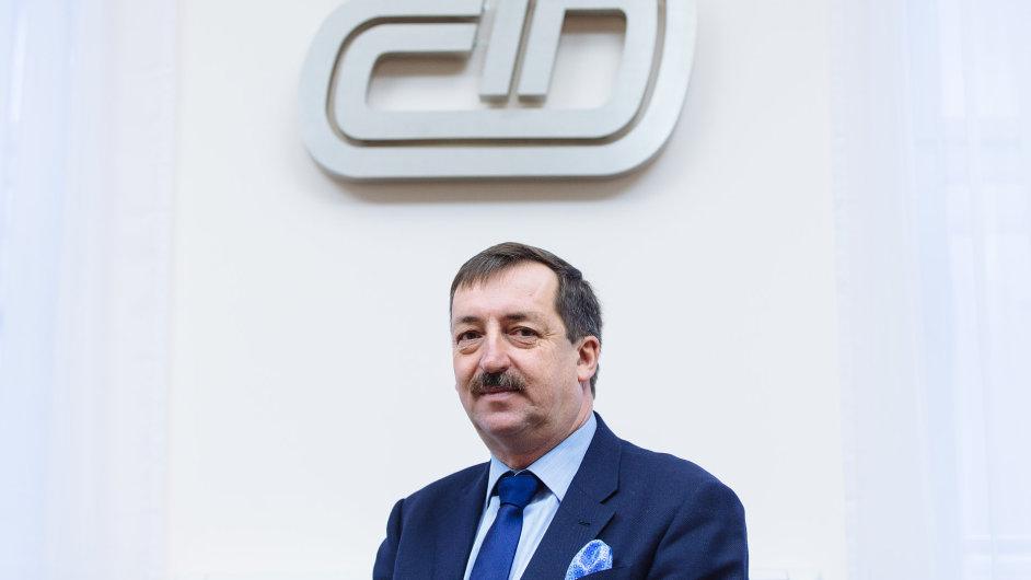 Nyní už bývalý generální ředitel Českých drah Dalibor Zelený