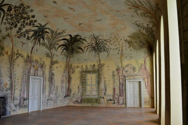 Zámek Nebílovy - interiér