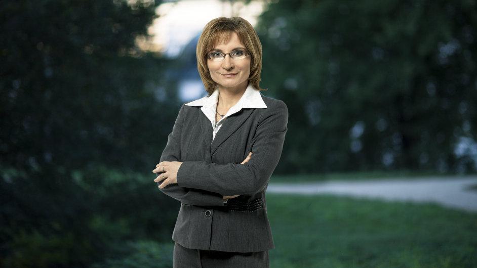 Pověřená předsedkyně Strany zelených Jana Drápalová