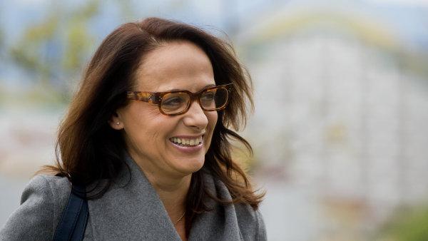 Kandidátka ANO na primátorku Adriana Krnáčová