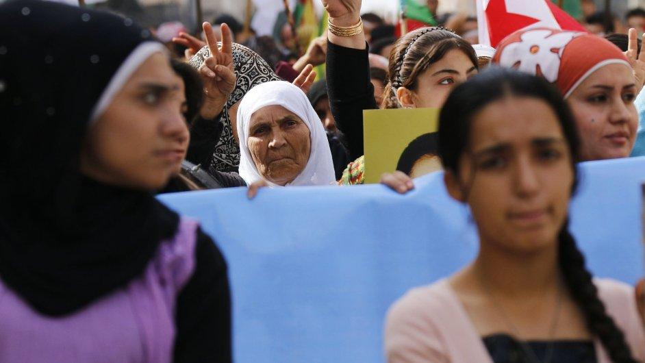 Protesty proti Islámskému státu, ilustrační foto