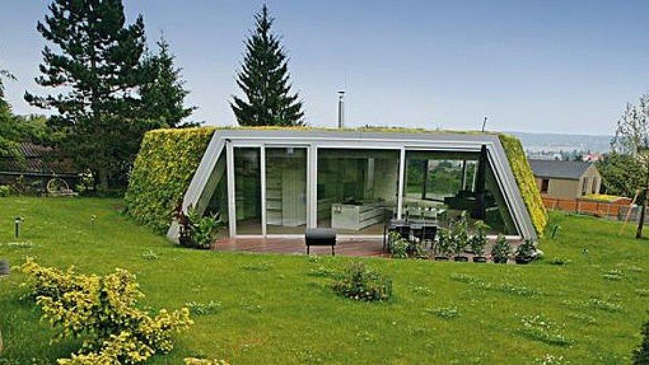 Rodinný dům v Mníšku pod Brdy podle návrhu architekta Davida Kopeckého, Pavla Mejtského a Jána Studeného