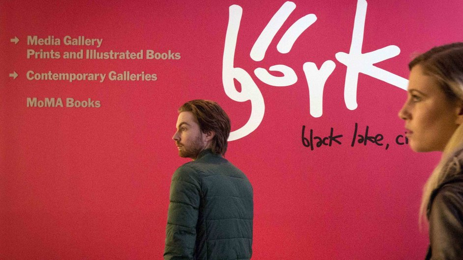 Snímky z výstavy Björk v newyorské MoMA