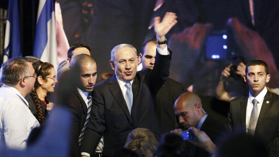 Netanjahu se stranou Likud vyhrál izraelské volby.