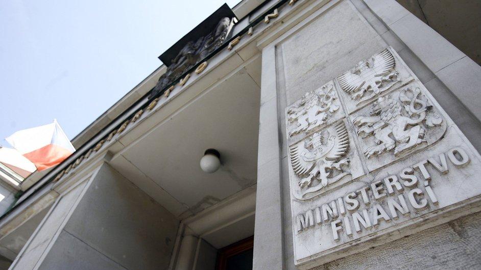 Ministerstvo financí - Ilustrační foto.