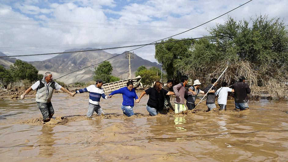 Povodně v Chile