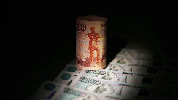 Kurz rublu ve středu propadl.
