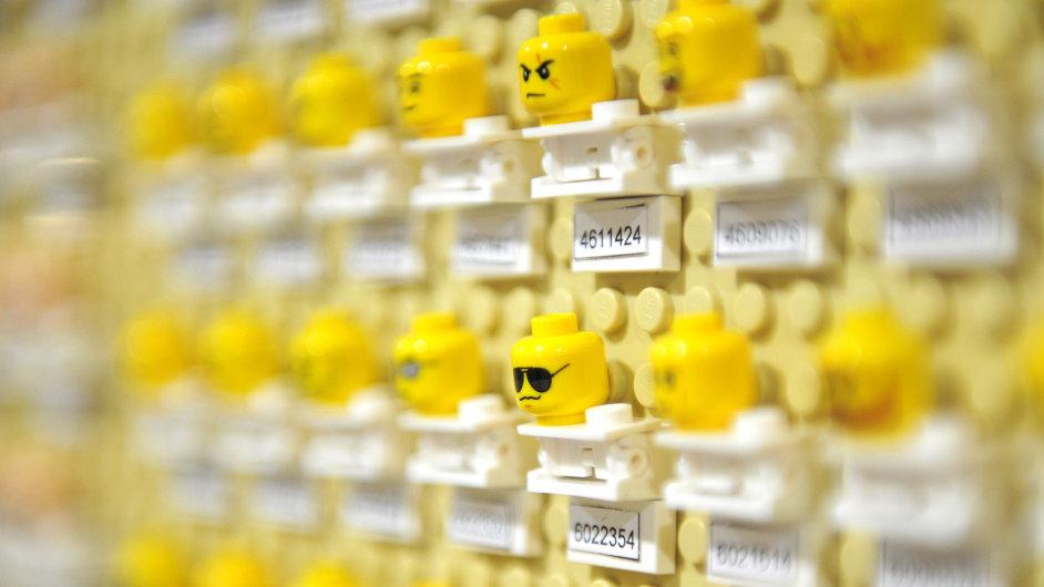 Díly postaviček stavebnice Lego