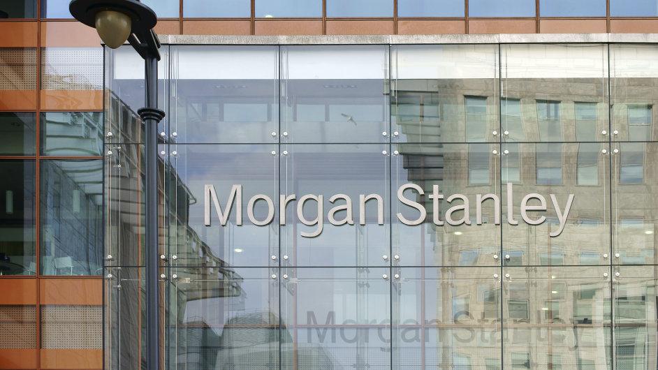 Výše příjmů šesté největší americké banky Morgan Stanley překonala očekávání.