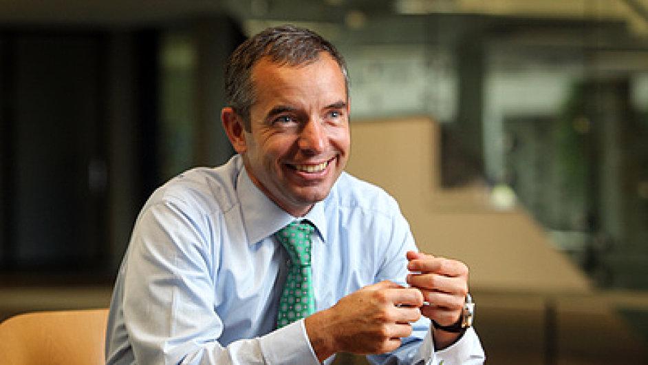 Jan Sadil, šéf Hypoteční banky.