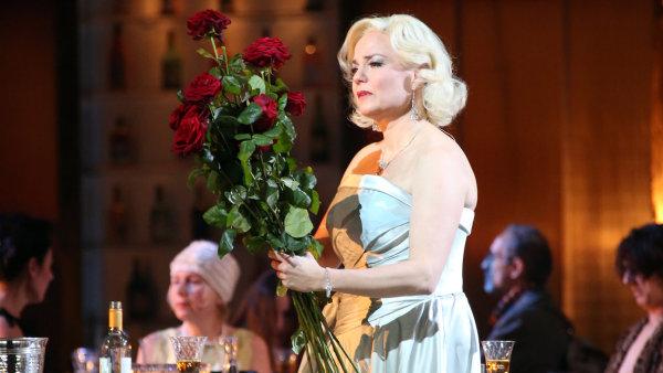Martina Janková na snímku z inscenace Händelova oratoria Triumf času a pravdy v La Scale.