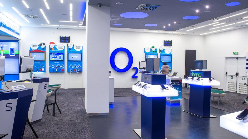 O2 Prodejna v OC Chodov.Fotografii dodalo tiskové oddělení O2 k volnému použití.