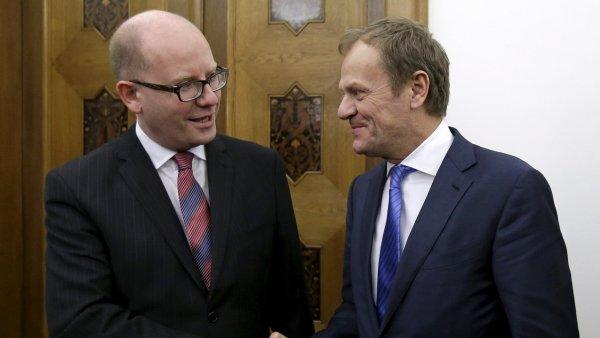 Bohuslav Sobotka jednal s předsedou Evropské rady Donaldem Tuskem o navrhované reformě Evropské unie.