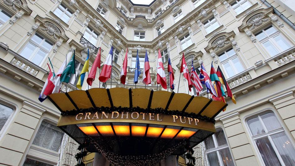 Grandhotel Pupp v Karlových Varech byl vždy důležitý pro ruskou klientelu.